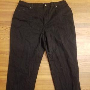 High quality new black denim jeans